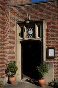 Anchor pub doorway