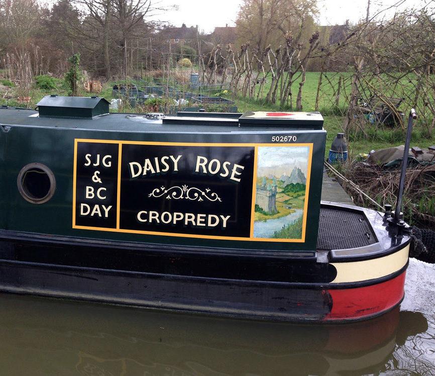 Wolvercote - Canalboats