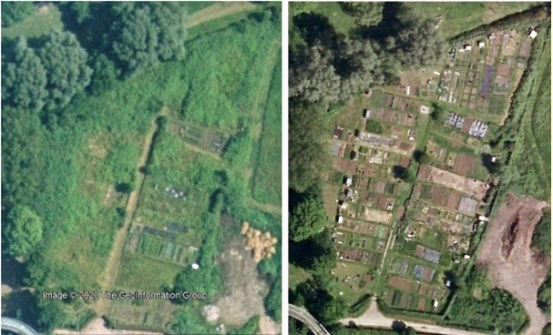 Allotments Before & After