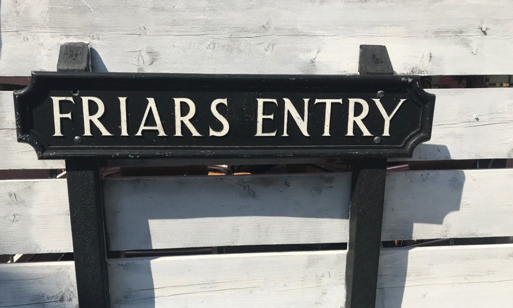 Friars Entry
